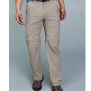 Columbia convertible hiking pants/shorts